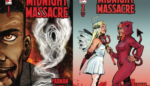 MIDNIGHT MASSACRE #1& #2 – COMICS ANONYMOUS